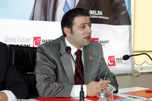 Muhammet GÜRLÜ: Erbakan'ın Yolu Saadet Partisi'nin Yoludur